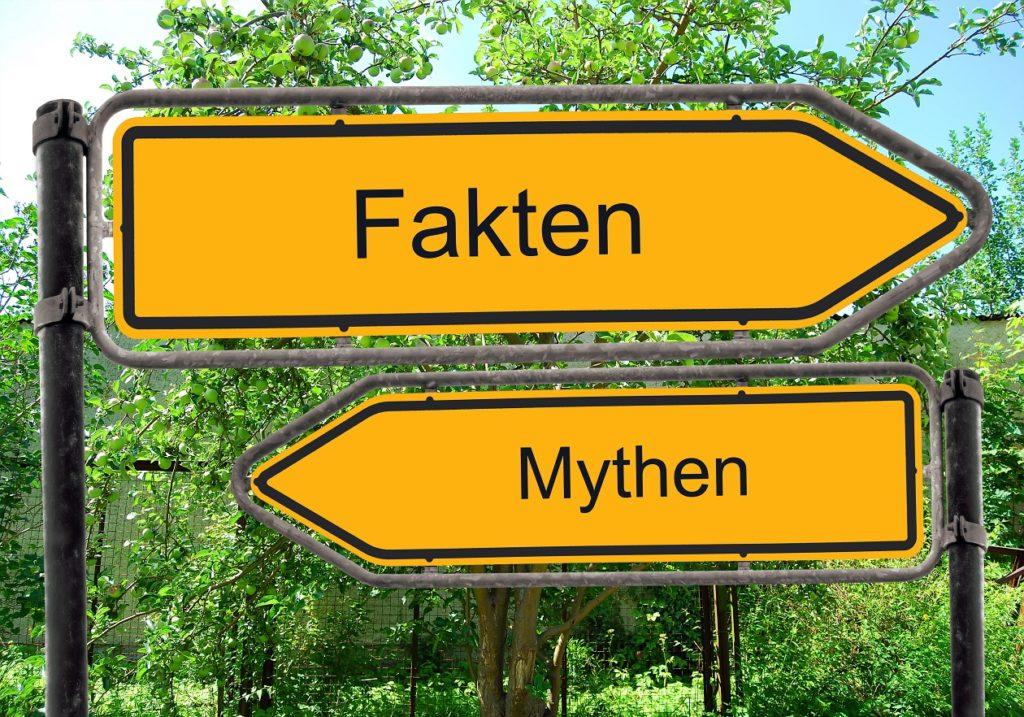 Es gibt viele medizinische Mythen, die sich hartnäckig halten. Bild: Thomas Reimer - fotolia