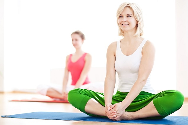 Yoga als Mittel bei Reizdarm. Bild: nuzza11 - fotolia