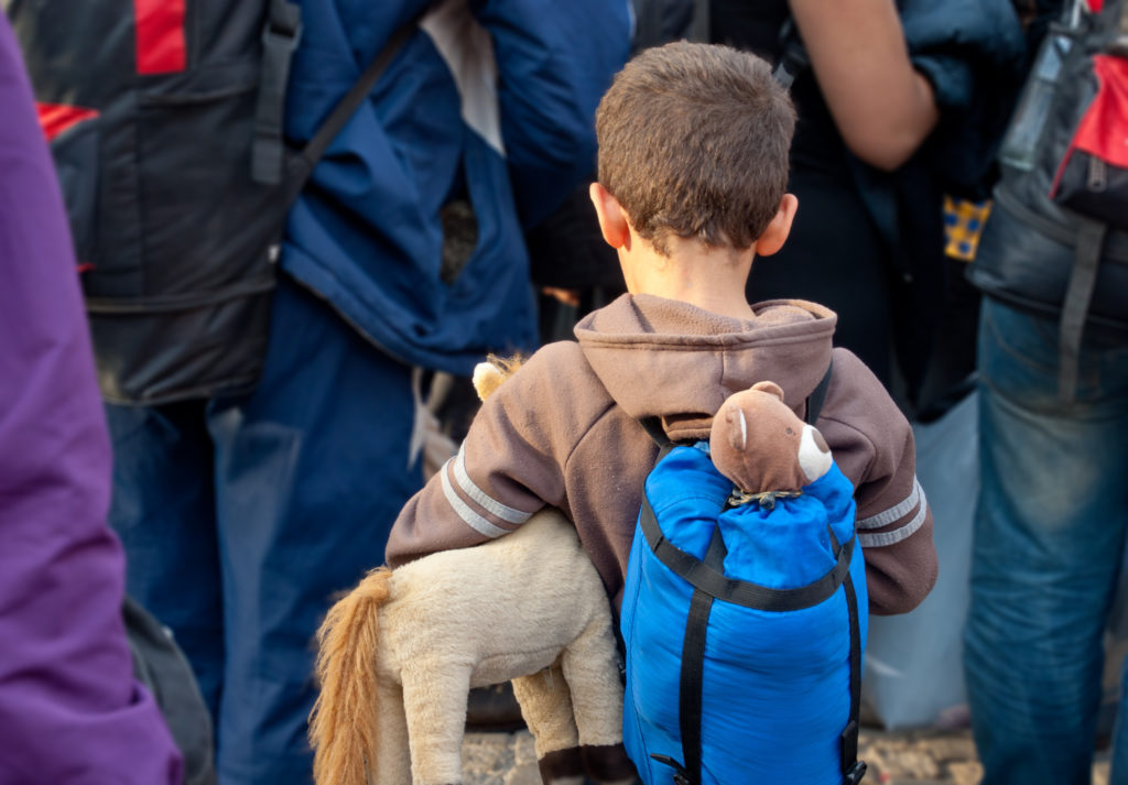 Flüchtlinge haben eine erhöhte Wahrscheinlichkeit, psychische Erkrankungen wie beispielsweise Schizophrenie oder eine posttraumatische Belastungsstörung (PTSD) zu entwickeln. (Bild: Lydia Geissler/Fotolia.com)