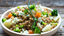 Buchweizen: Vielseitige vegetarische Küche. Bild: kmiragaya - fotolia
