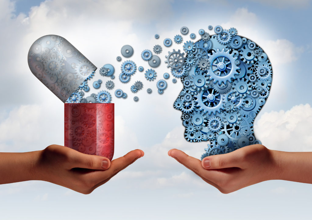 Wissenschaftler fanden heraus, dass Anticholinergika unser Gehirn verändern. Dadurch entstehen kognitive Beeinträchtigungen und die Etwicklung von Demenz wird begünstigt. (Bild: freshidea/fotolia.com)