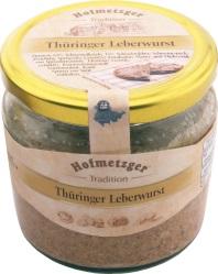 Aufgrund des Nachweises von Glasscherben wurde eine Rückrufaktion für die Hofmetzger Thüringer Leberwurst gestartet. (Bildquelle: www.lebensmittelwarnung.de)