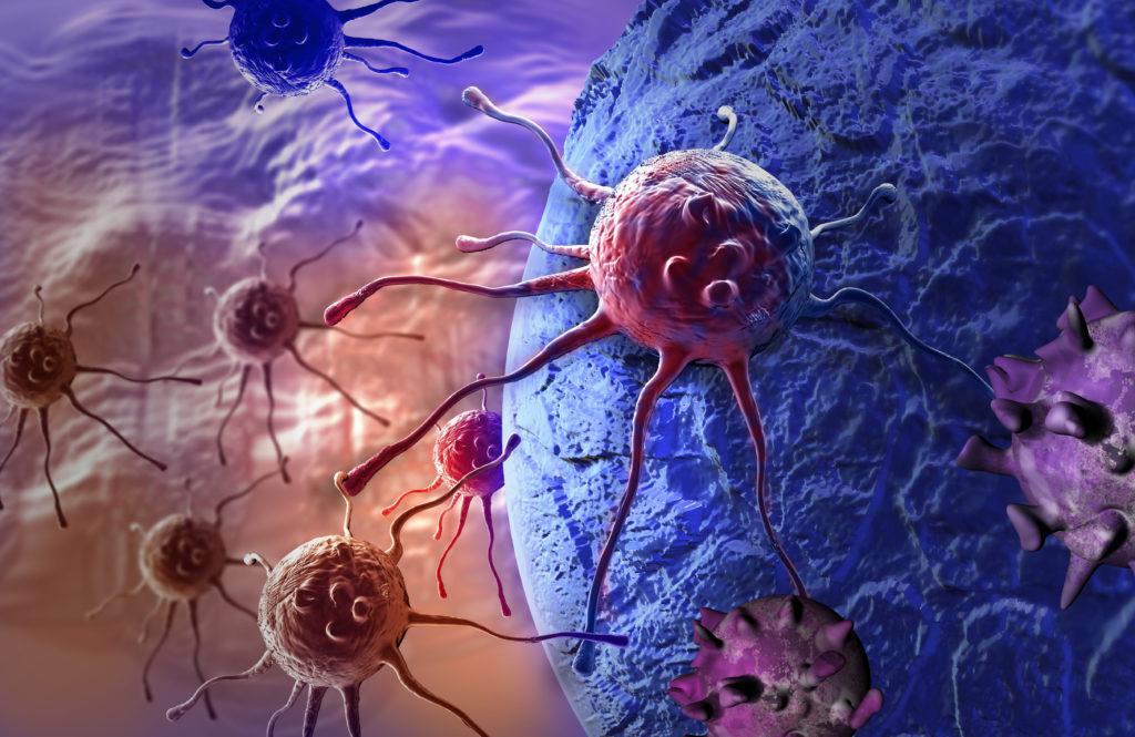 Krebszellen bewirken meiste eine deutliche Änderung des Oxidationszustandes im Organismus. (Bild: vitanovski/fotolia.com)