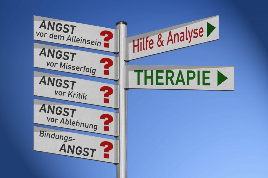 Unterschiedliche Therapieformen können ein Weg aus der Angst sein. Bild: kamasigns - fotolia