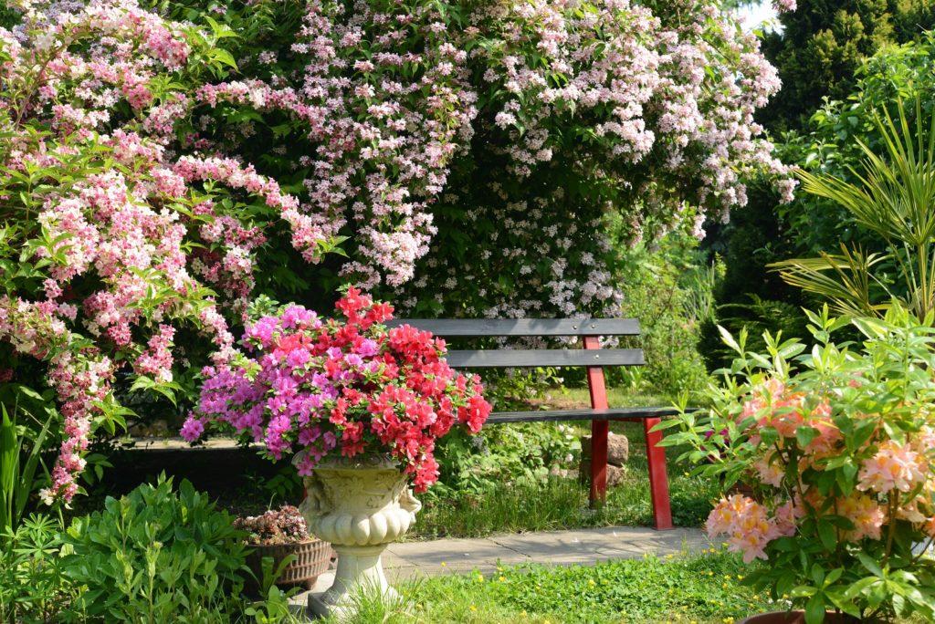 Stadtgärten bieten einen Ausgleich zum hohen Stresspegel. Bild: K.-U. Häßler - fotolia