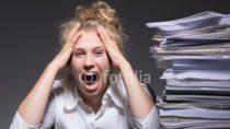 Dauerstress bei der Arbeit macht die Menschen krank.