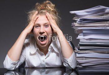 Dauerstress bei der Arbeit macht die Menschen krank. (Bild: Gina Sanders/fotolia.com)