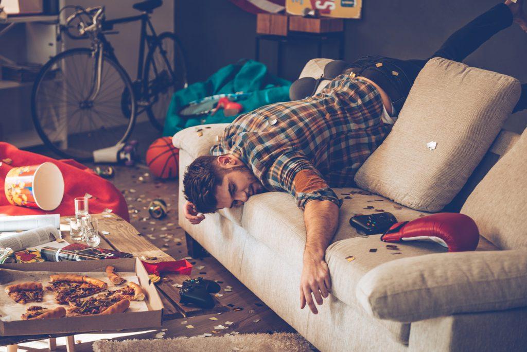 Verwahrlosung und soziale Isolation ist eine häufige Folge. Bild: gstockstudio - fotolia
