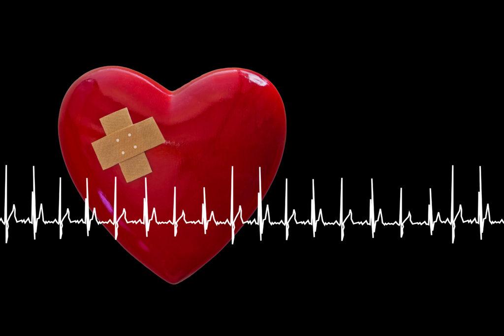 Durch tiefe Trauer können Herz-Rhythmus-Störungen entstehen. Bild: Sonja Calovini - fotolia