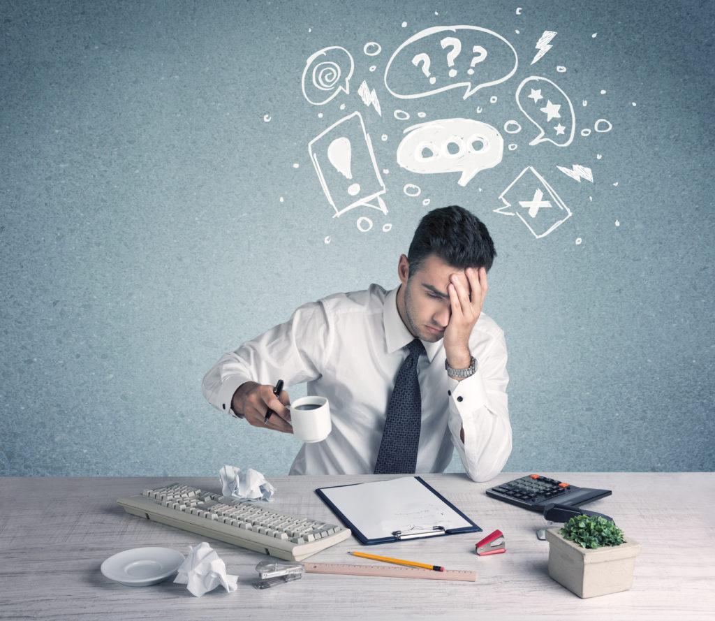 Erfüllen Sie jeden Tag bei der Arbeit die gleichen Aufgaben? Dann sollten Sie einige tägliche Übungen durchführen, um ihr Gehirn fit zu halten. Ständig wiederkehrende Aufgaben unterfordern unser Gehirn und aus diesem Grund baut im Laufe der Zeit sogar unser IQ ab. (Bild: ra2 studio/fotolia.com)