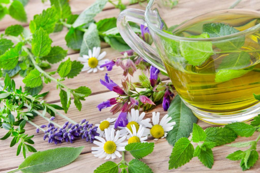 Verschiedene Heilpflanzen wie Melisse oder Baldrian können eine gute Unterstützung bei der Behandlung bieten. ( PhotoSG/fotolia.com)
