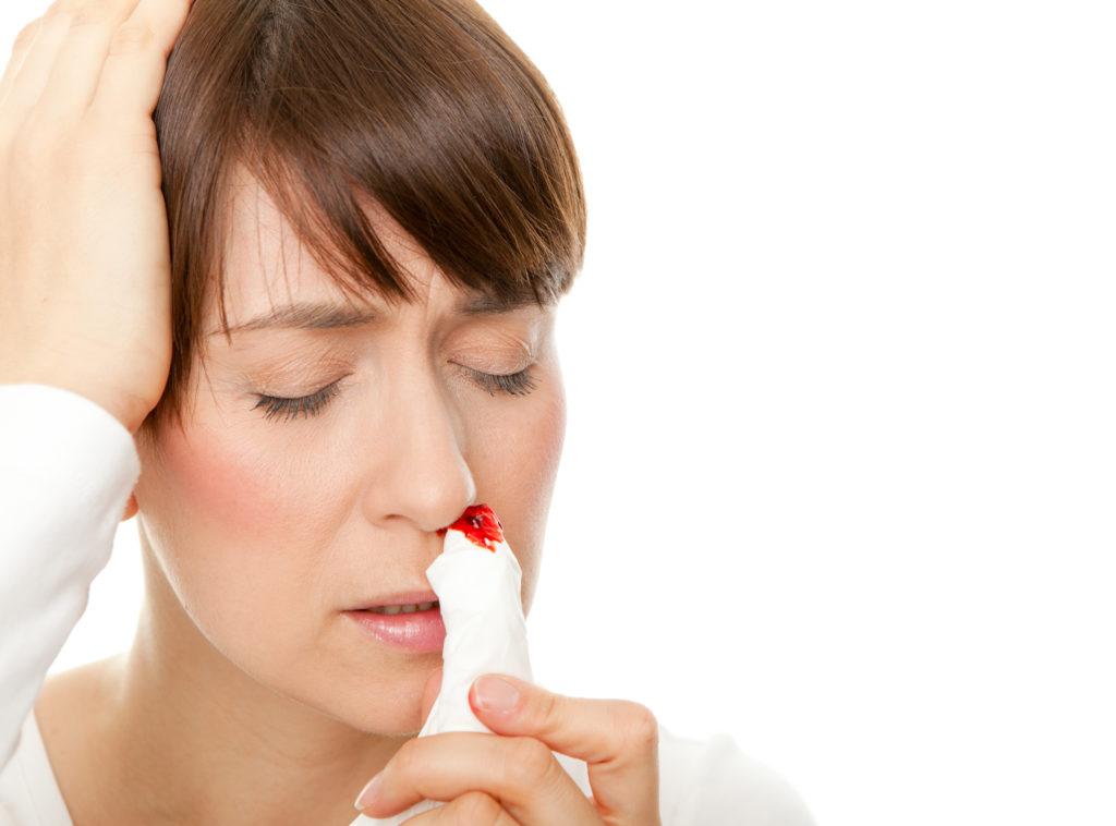 Chronisches Nasenbluten: Wenn die Nase häufig blutet. Bild: drubig-photo - fotolia