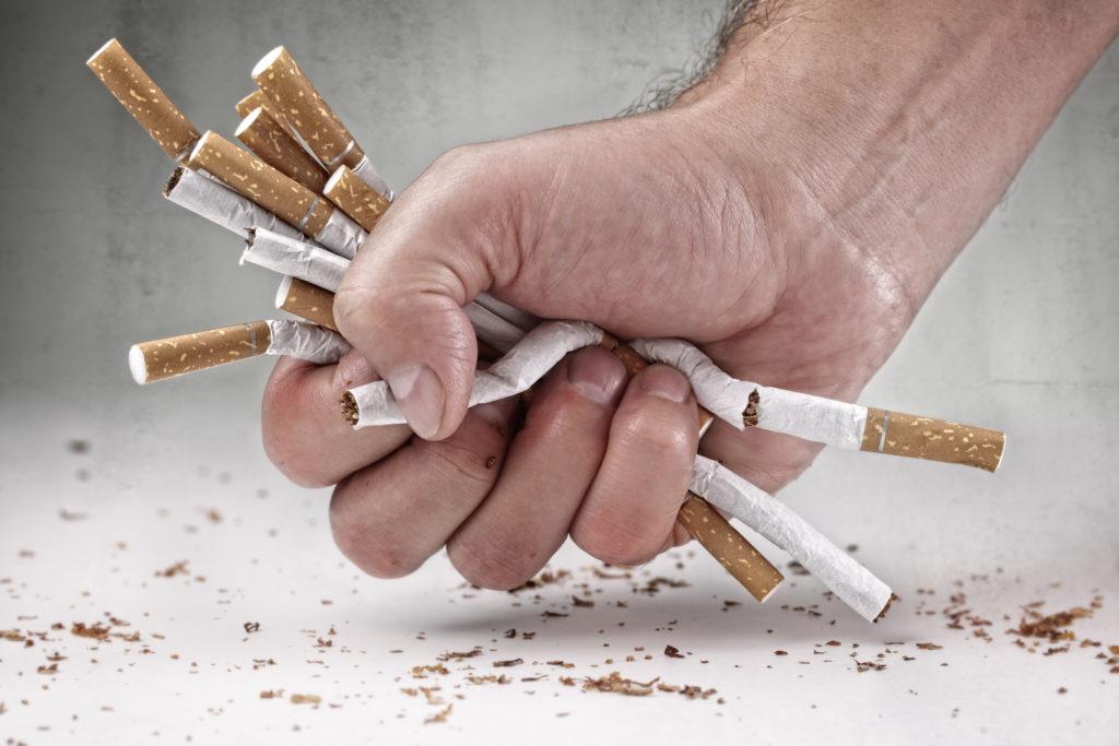 Wenn ich Rauchen aufzugeben werde ich das Gewicht zusammennehmen