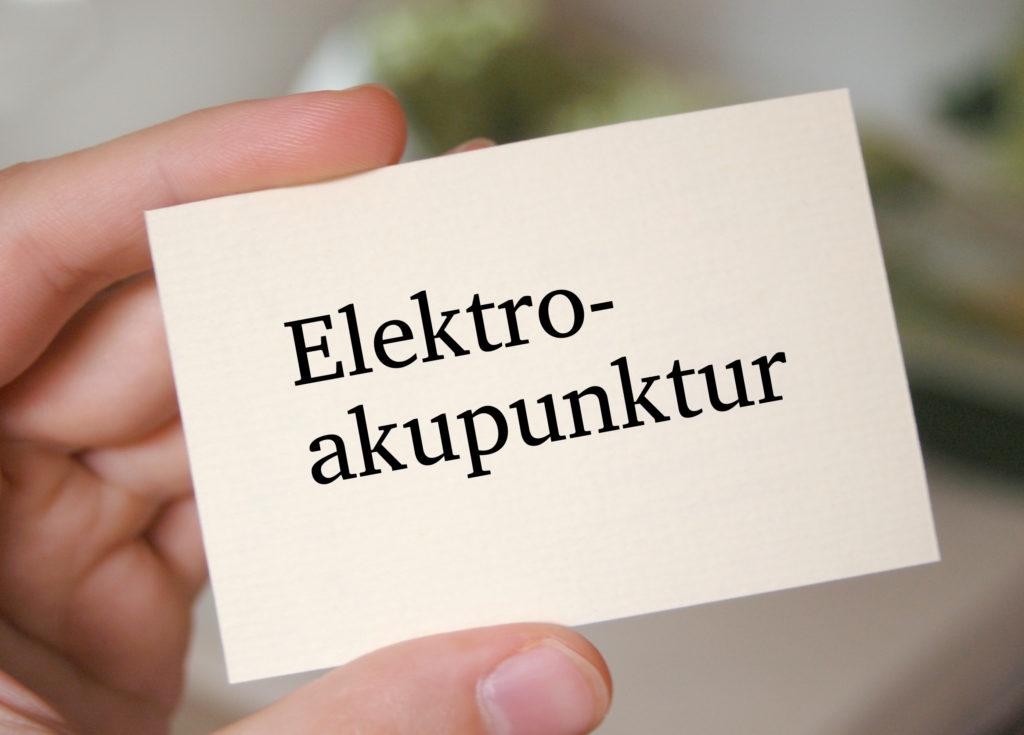 Elektroakupunktur kann Schmerzen lindern. Bild: thingamajiggs - fotolia