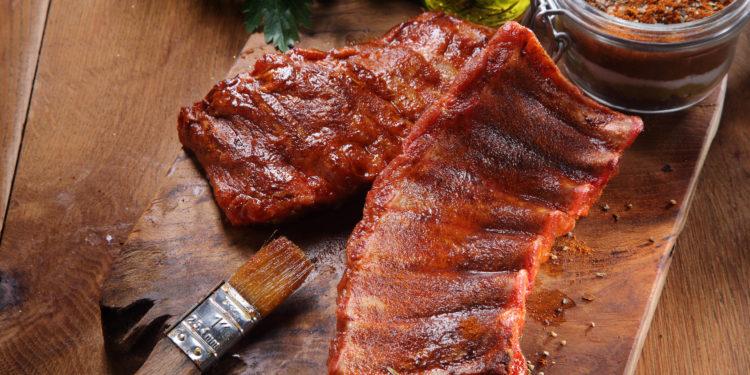 Fleisch wurde mariniert