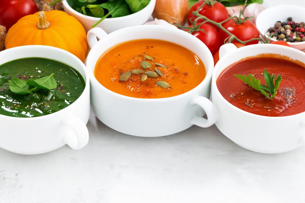 Kalte Suppen im Sommer. Gesund und Lecker! Bild: cook_inspire - fotolia