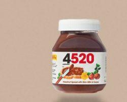 Im Internet taucht immer wieder ein Foto eines Nutella-Glases auf, das statt des Markenlogos die Zahl 4520 als Aufdruck hat. Was bedeutet die Ziffernfolge? (Bild: Quelle: Instagram)