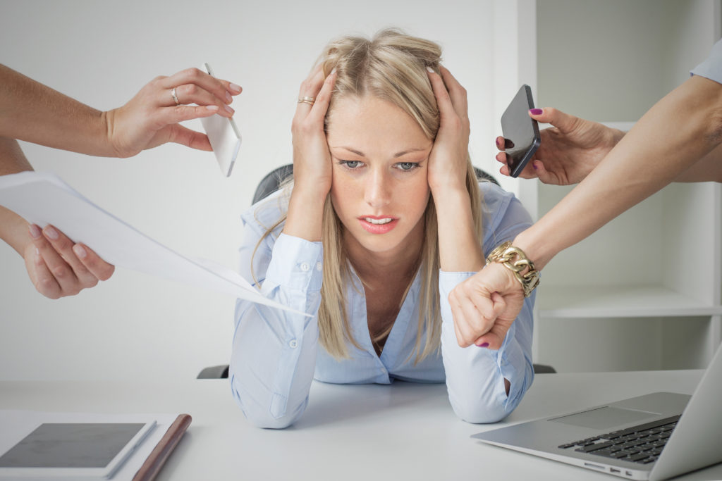 Stress schadet unserer Gesundheit. Besonders stark scheint Stress Frauen mit einer vergangenen Herzerkrankung zu schaden. Bei solchen Frauen reduziert der Stress den Blutzuflusses des Herzen. (Bild: Kaspars Grinvalds/fotolia.com)