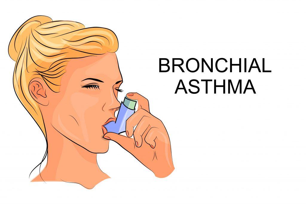 Akute Atemnot ist ein Symptom eines Asthma-Anfalls. Bild: Artemida-psy - fotolia