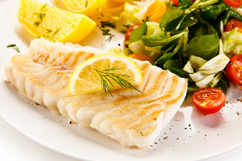 Perfekte Kombination: Fisch und Gemüse! Bild: Jacek Chabraszewski - fotolia