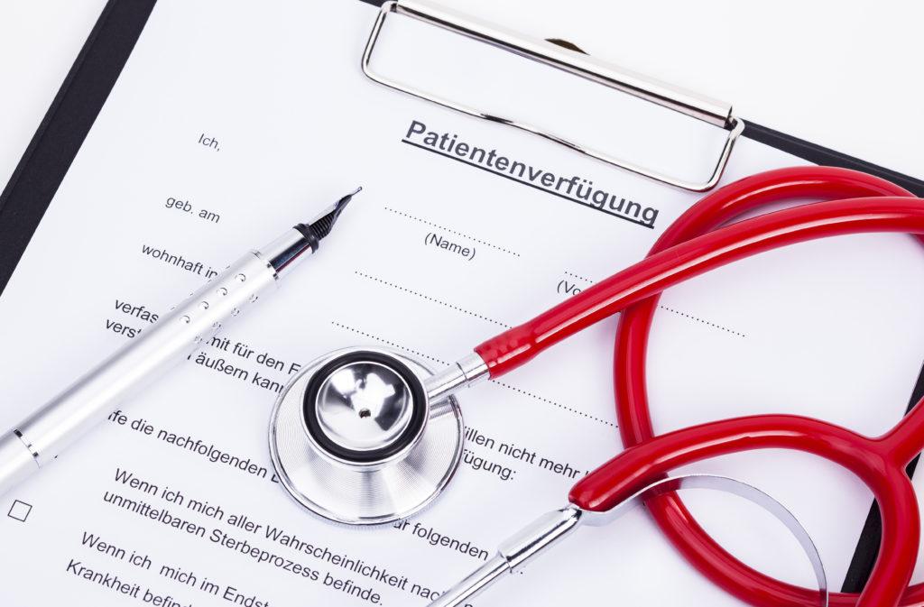 Patientenverfügung muss konkret formuliert sein, sonst ist sie nicht gültig. Bild: Ralf Kalytta - fotolia