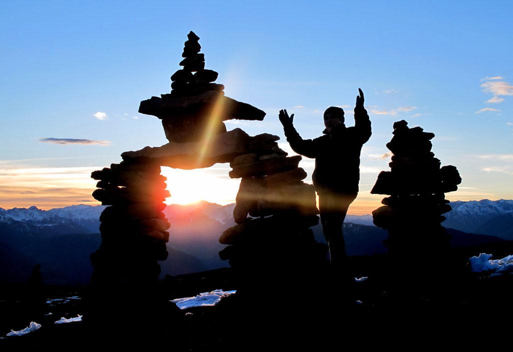 Schamanisches Ritual in der indianischen Medizin. Bild: Konstanze Gruber - fotolia