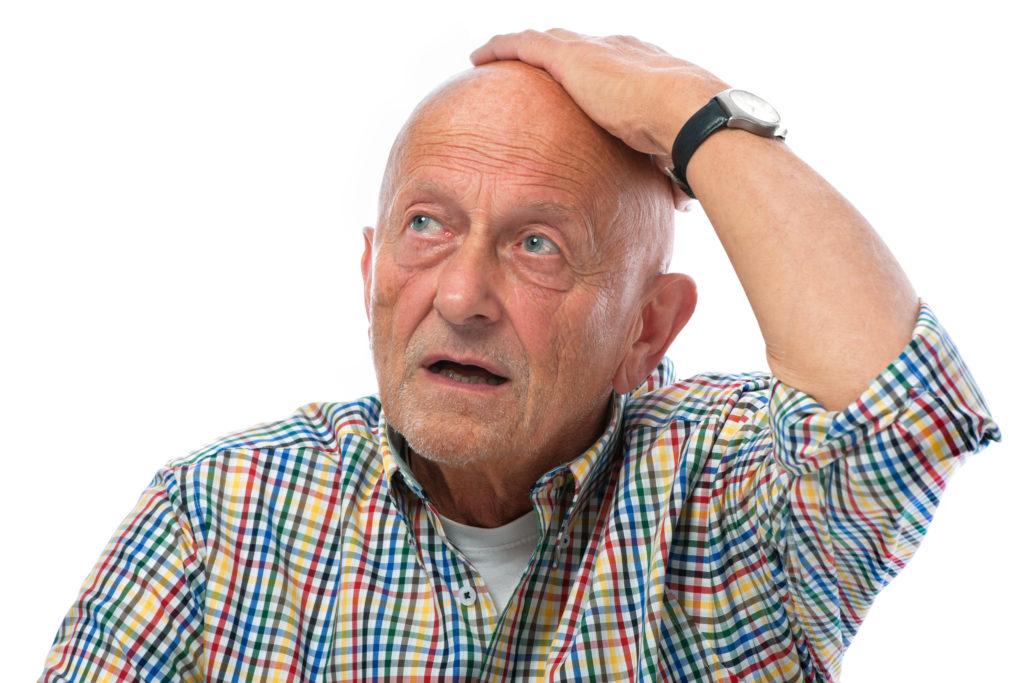 Die meisten Menschen leiden unter einer verschlechterten kognitiven Gedächtnisleistung, wenn sie ins vorangeschrittene Alter kommen. Es gibt aber auch Menschen deren Gedächtnis mit 70 Jahren immer noch so gut ist wie mit zwanzig Jahren. Mediziner suchten jetzt nach der Ursache. (Bild: Alexander Raths/fotolia.com)