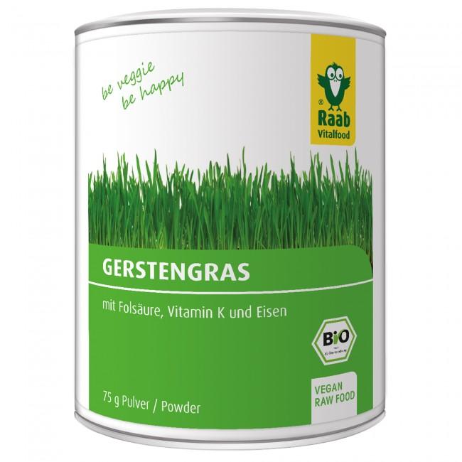 Wegen möglicherweise enthaltener E. coli Bakterien haben zwei Hersteller einen Rückruf für Bio Gerstengraspulver gestartet. (Bild: www.raabvitalfood.de)