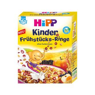 Wegen möglicherweise enthaltenem Metalldraht hat HiPP einen Rückruf für seine Kinder Frühstücks-Ringe gestartet. (Bild: www.hipp.de)