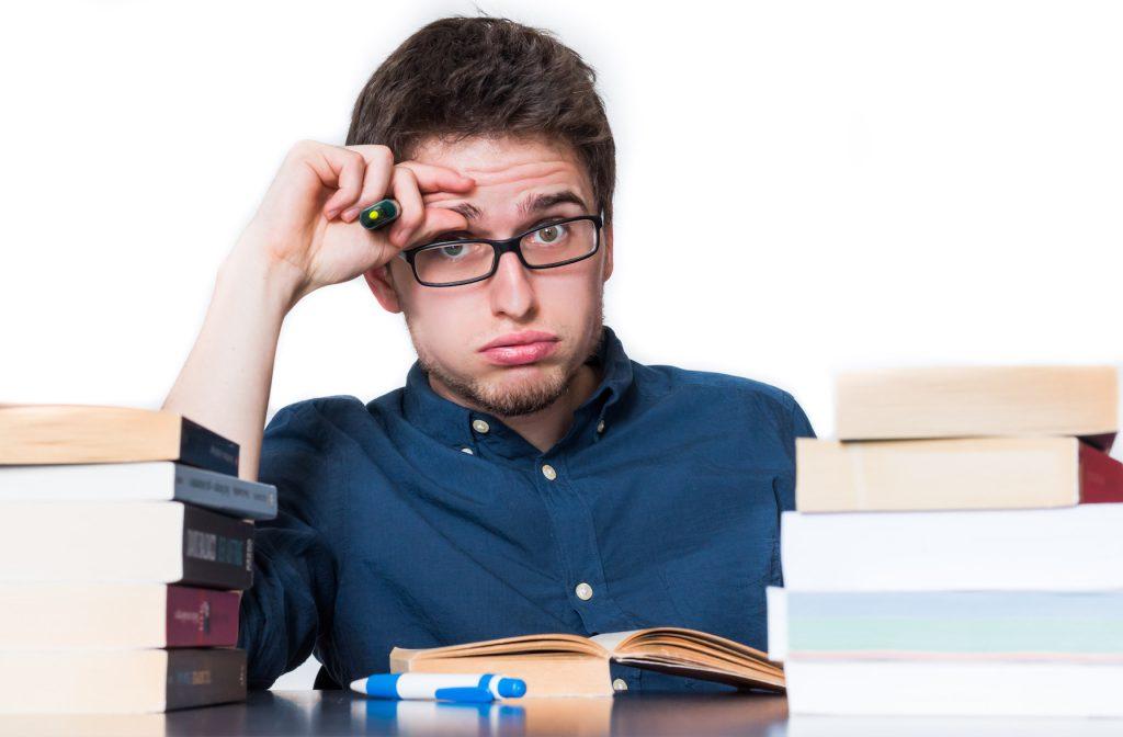 Prüfungsstress kann Denkblockaden erzeugen. Bild: Patrick Daxenbichler - fotolia