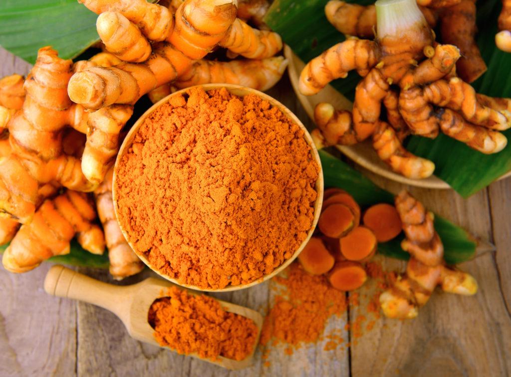 Kurkuma- gelbes Ingwer mit heilender Wirkung. Bild: sommai - fotolia