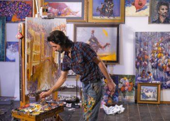 Sicherlich sagen die Werke von Malern viel über den Künstler aus. Experten stellten jetzt fest, dass durch eine Analyse der Pinselstriche sogar neurodegenerative Störungen festgestellt werden können. (Bild: kustvideo/fotolia.com)
