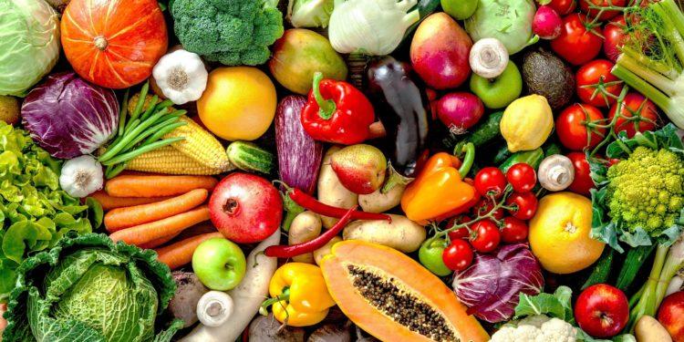 Frische Früchte und Gemüse