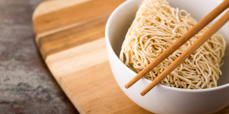 Instant-Nudel gut für die Ernährung