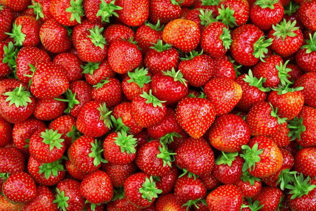 Zu Viele Erdbeeren