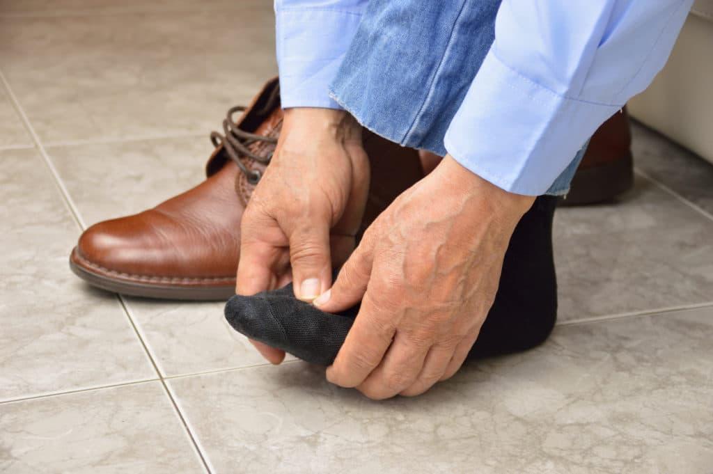 schuhe anziehen hilfe