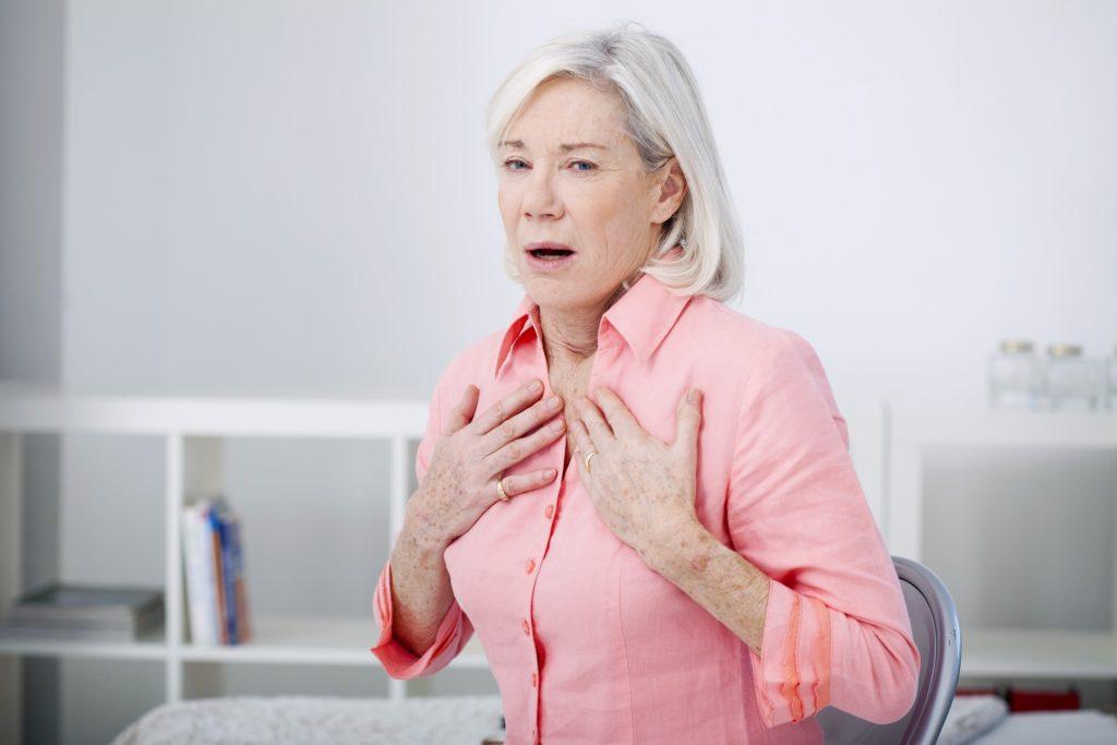 Eine Lungenerkrankung Mit Atembeschwerden Wirkt Sich Auch Auf Die Funktion  Des Herzens Aus. (Bild: Lydie/fotolia.com)