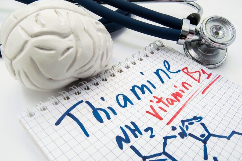 thiamin mangel symptome
