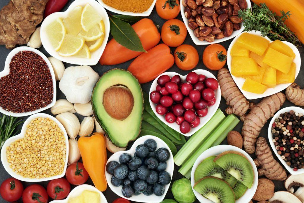 Eintägige Ernährung mit Obst und Gemüse
