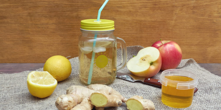 Diät von Apfelessig und Honig zur Gewichtsreduktion