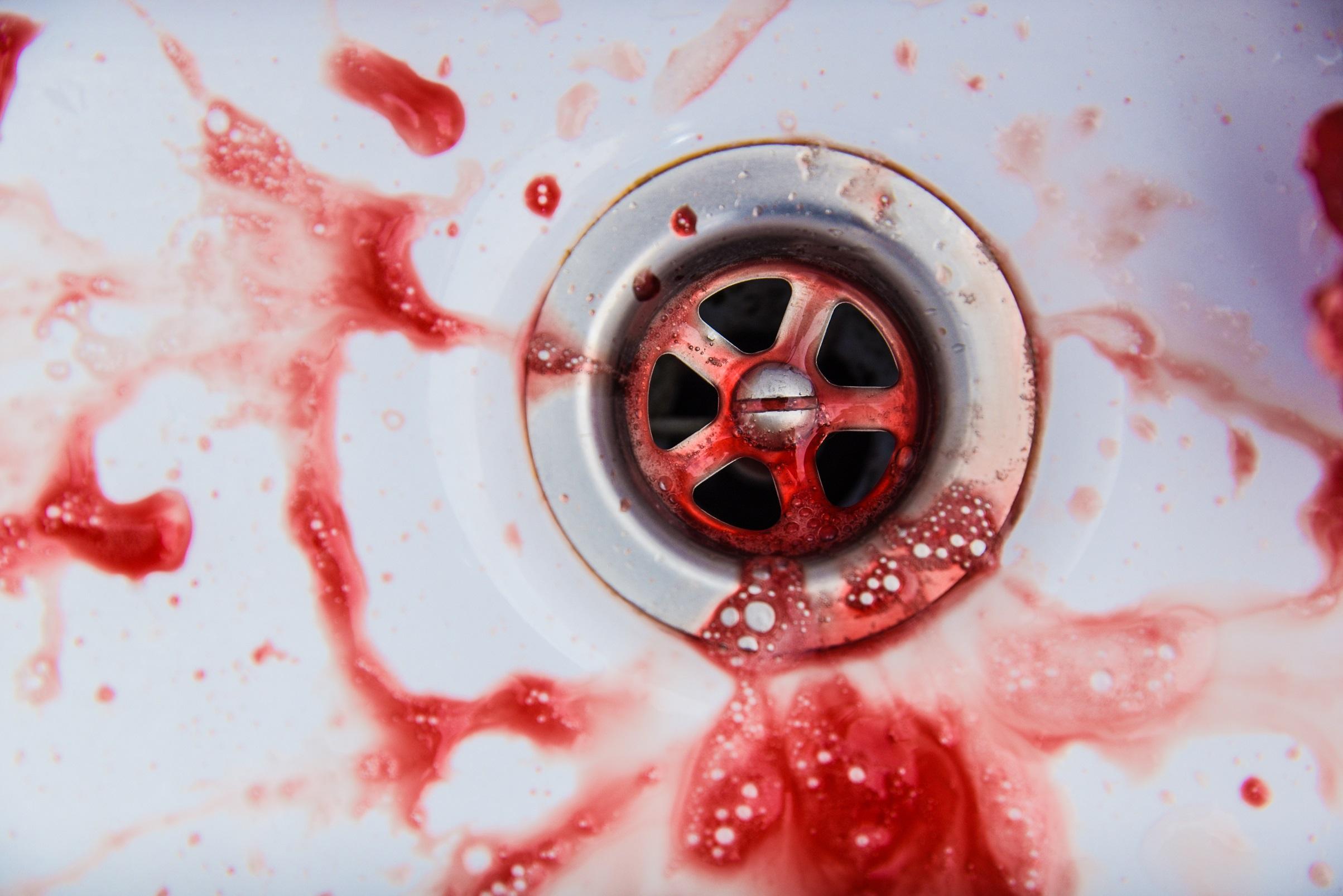 Dunkles blut und helles Wechseljahre: Blutungen