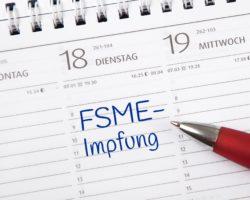 Kalendereintrag: FSME-Impfung