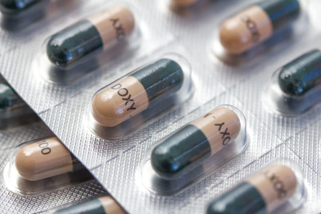 Antibiotika Kapseln Doxycyclin