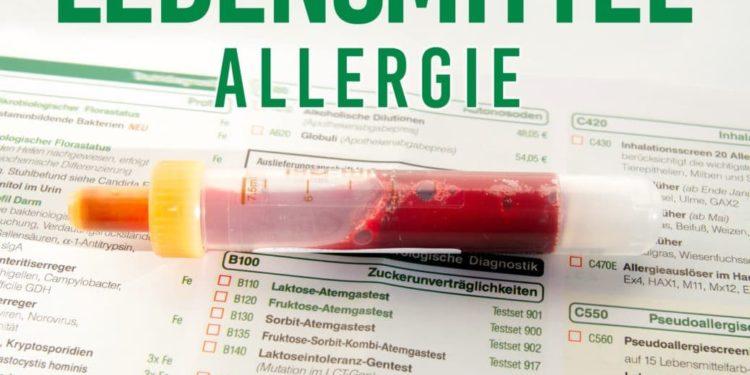 Blutprobe Lebensmittelallergie