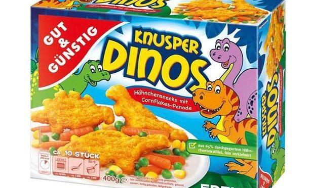 Gut & Günstig Hähnchen Dinos Tiefkühlkost