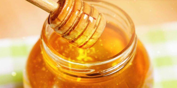Honigheber in Honigglas