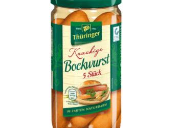 Für diese Bockwurst wurd ein Rückruf wegen möglicherweise enthaltener Plastikteile gestartet. (Bild: lebensmittelwarnung.de)