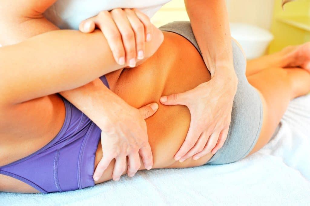 Osteopathische Behandlung Rücken