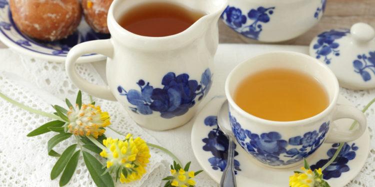 Echter Wundklee-Teetasse
