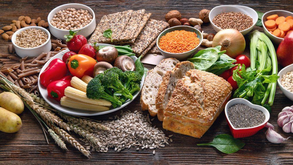 Fettfreie Lebensmittel zur Gewichtsreduktion